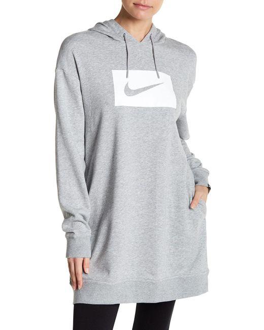 Nike - Multicolor Swoosh Hoodie - Lyst