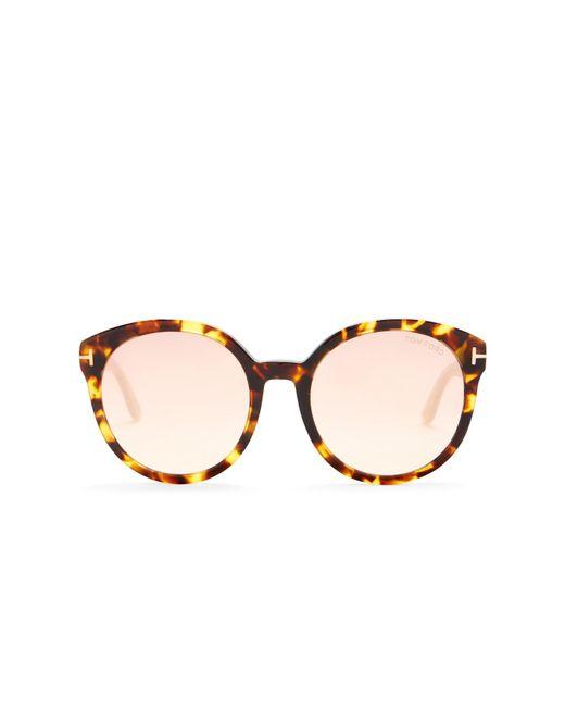 Tom Ford - Multicolor Philippa 55mm Oversized Sunglasses - Lyst