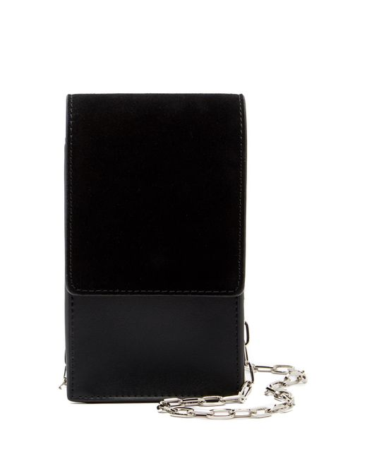 French Connection | Black Charlotte North/south Mini Crossbody Bag | Lyst