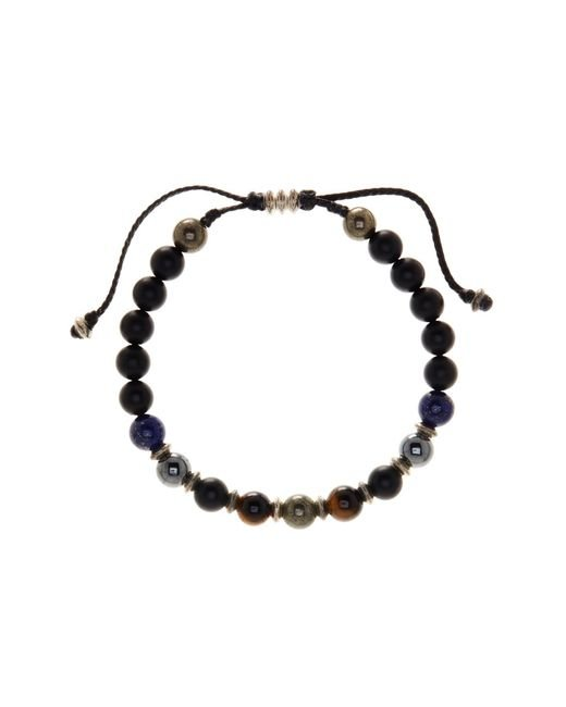 Link Up - Multicolor 8mm Mixed Semi-precious Beaded Cord Bracelet - Lyst