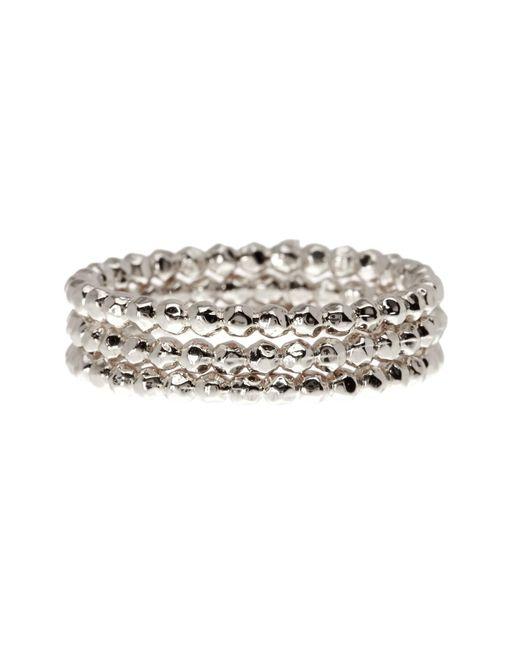 Gorjana   Metallic Marlow Beaded Ring Set - Set   Lyst