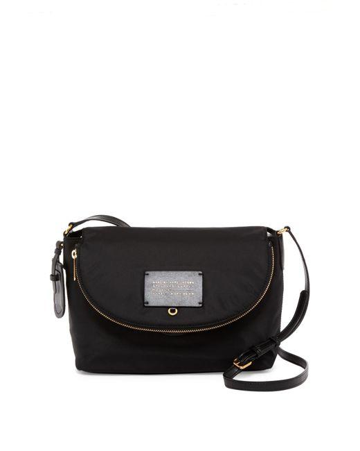 Marc Jacobs   Black Natasha Nylon Shoulder Bag   Lyst