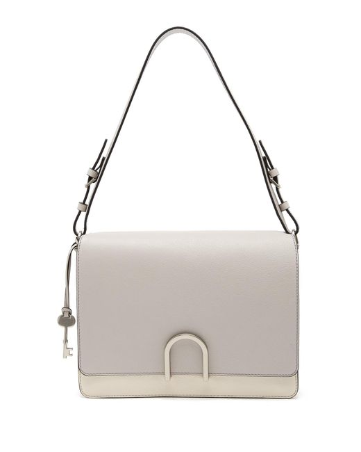 Fossil - Multicolor Finley Leather Shoulder Bag - Lyst