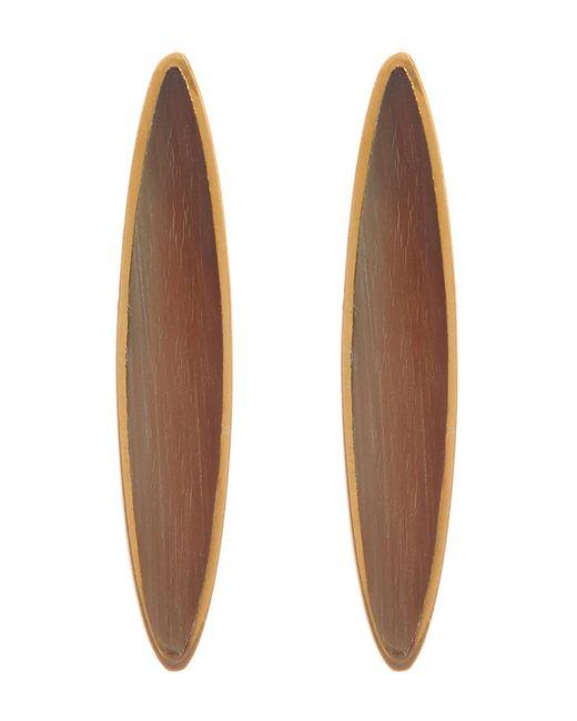 Soko - Jicho Natural Stone Oval Drop Earrings - Lyst
