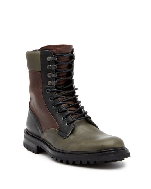 Rag & Bone - Multicolor Spencer Leather Commando Boot for Men - Lyst