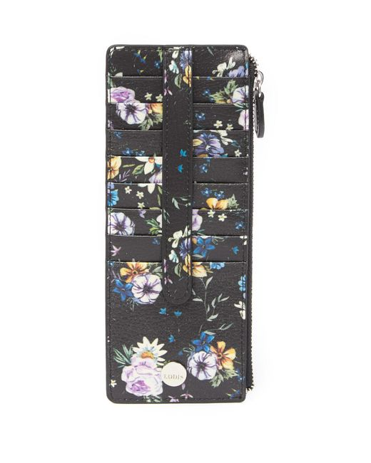 Lodis - Multicolor Posy Credit Card Case With Zipper Pocket - Lyst