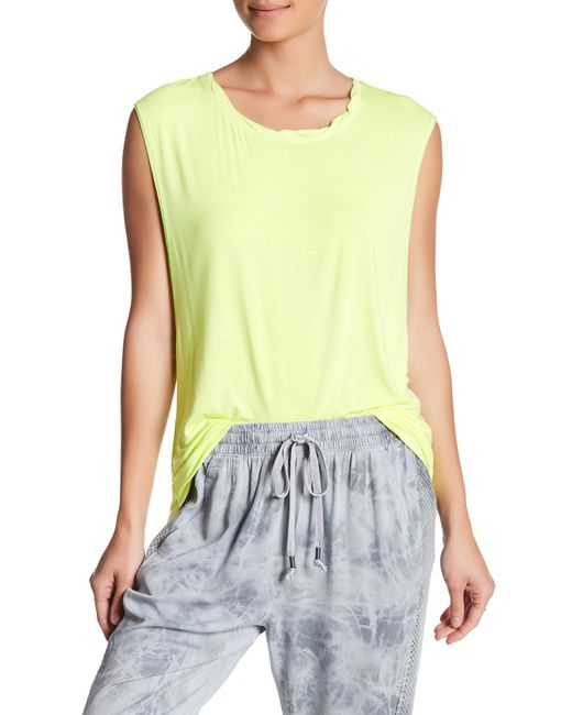Urban Outfitters | Yellow The It Muscle Tee | Lyst