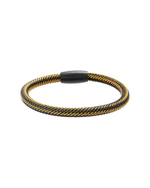 Ben Sherman - Black Magnetic Lock Wire Bracelet for Men - Lyst