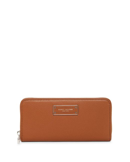 Marc Jacobs - Brown Too Hot To Handle Standard Leather Continental Wallet - Lyst