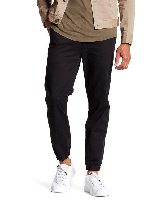 Helmut Lang | Black Elastic Cuff Trouser for Men | Lyst