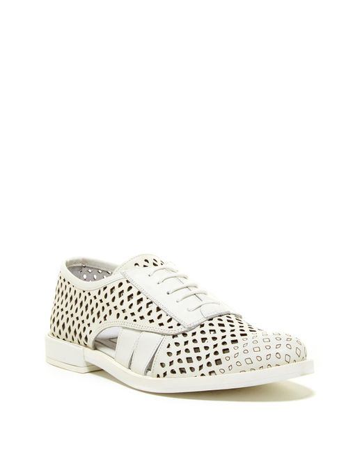 Miista | White Rylie Cut-out Oxford for Men | Lyst