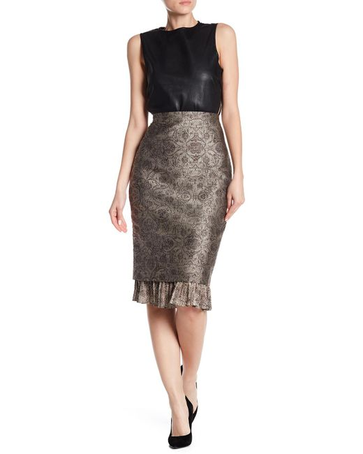 Max Mara - Natural Panfilo Pencil Skirt - Lyst