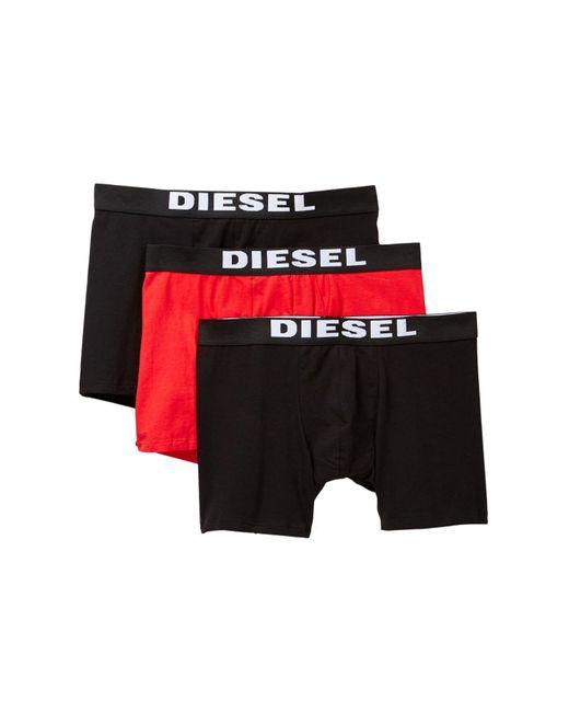 DIESEL - Black Sebastian Boxer Brief - Pack Of 3 for Men - Lyst