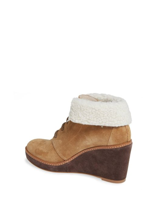 593ad47c1c6 Lyst - Caslon Henry Wedge Bootie in Brown - Save 62%