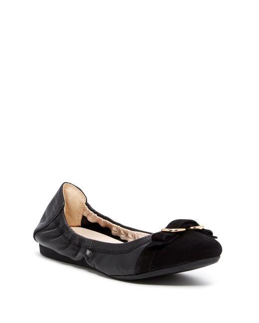 Cole Haan | Black Elme Ballet Ii Flat | Lyst