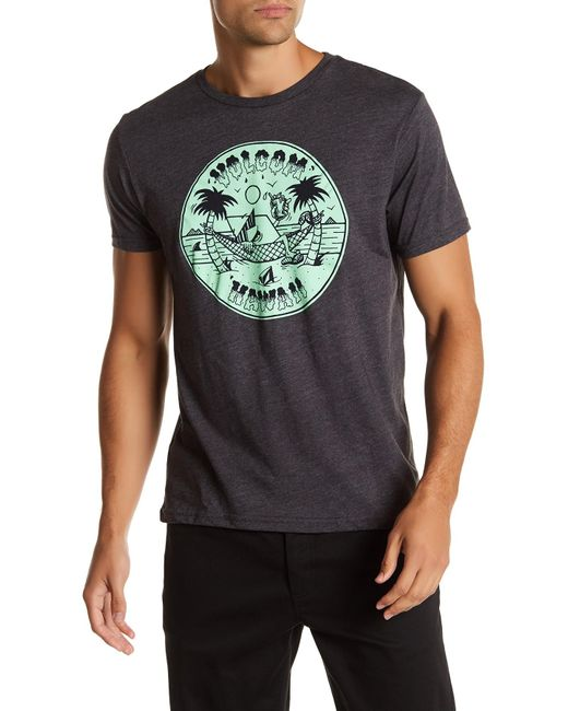 Volcom | Multicolor Just Swaying Short Sleeve Tee for Men | Lyst