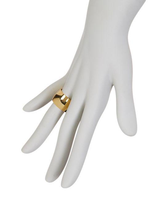 Argento Vivo | Metallic Large Band Ring - Size 8 | Lyst