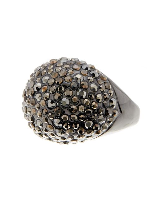 Ariella Collection | Metallic Pave Cocktail Ring | Lyst