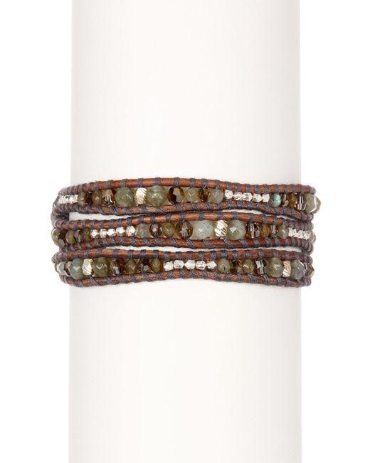 Chan Luu | Multicolor Stone Mix Beaded Wrap Bracelet | Lyst