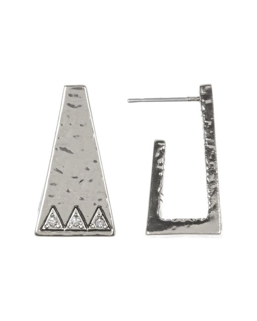 House of Harlow 1960 | Metallic Pyramid Cuff Stud Earrings | Lyst