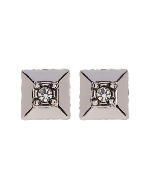 House of Harlow 1960 | Metallic Accented Pyramid Stud Earrings | Lyst