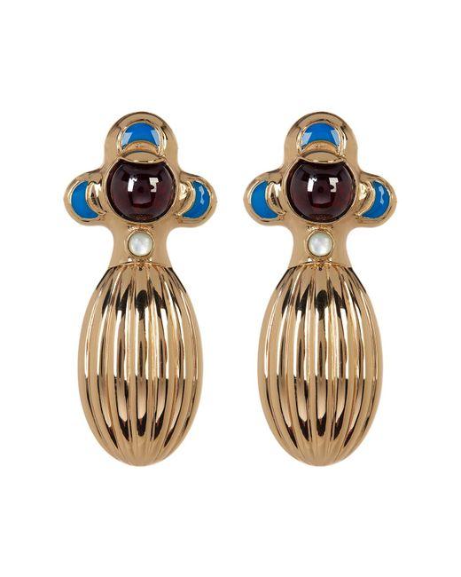House of Harlow 1960 | Metallic Dinka Garnet Earrings | Lyst