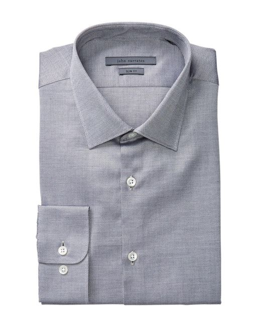 John Varvatos | Multicolor Patterned Slim Fit Dress Shirt for Men | Lyst