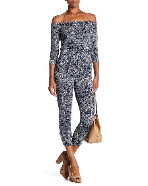 Rachel Pally | Blue Sabin Printed Jumpsuit | Lyst