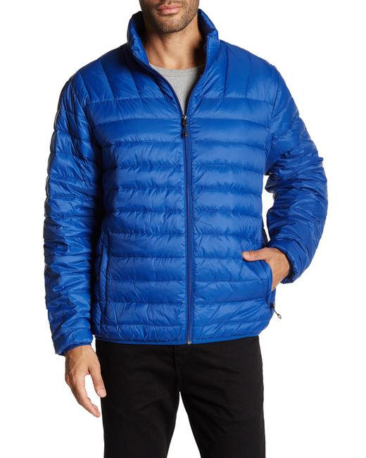 Hawke Amp Co Core Packable Puffer Jacket In Blue For Men Lyst