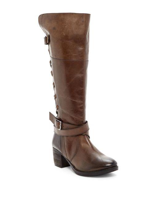 Report | Brown Jadon Corset Riding Boot | Lyst
