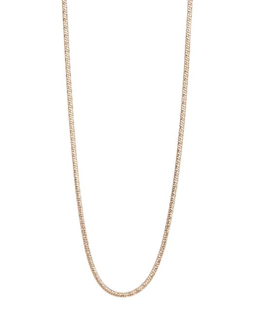 Kenneth Cole | Metallic Gold-tone Snake Chain Necklace | Lyst