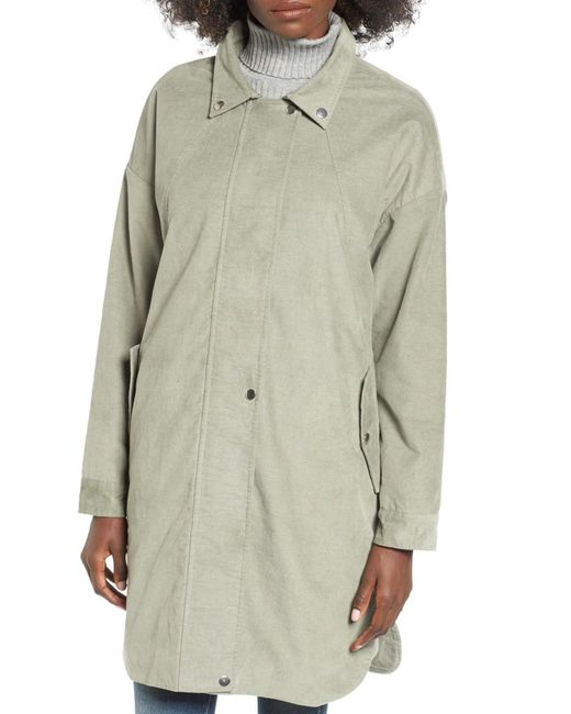 Moon River Corduroy Jacket In Green Lyst