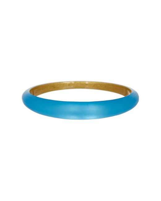 Alexis Bittar | Blue Tapered Bangle | Lyst