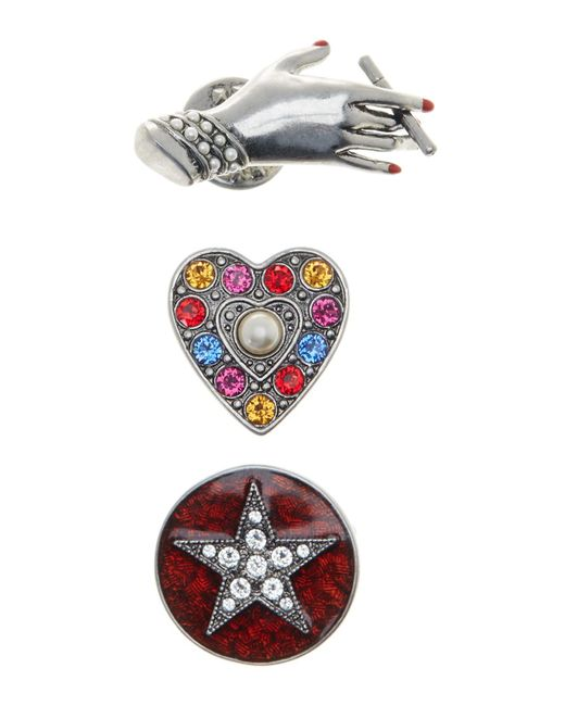 Marc Jacobs | Multicolor Brooch 3-piece Set | Lyst