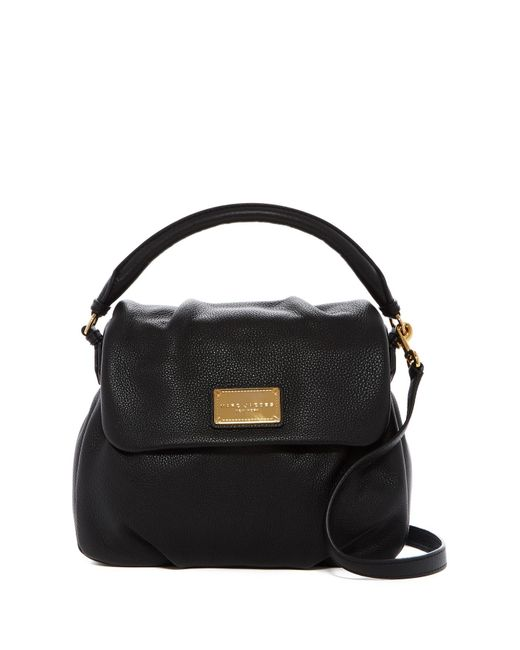 Marc By Marc Jacobs | Black Classic Leather Shoulder Bag | Lyst