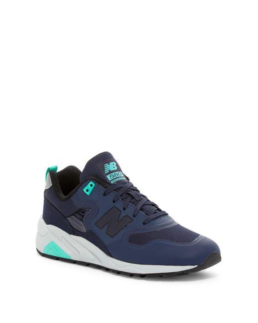 New Balance   Blue Reengineered 580 Running Shoe for Men   Lyst
