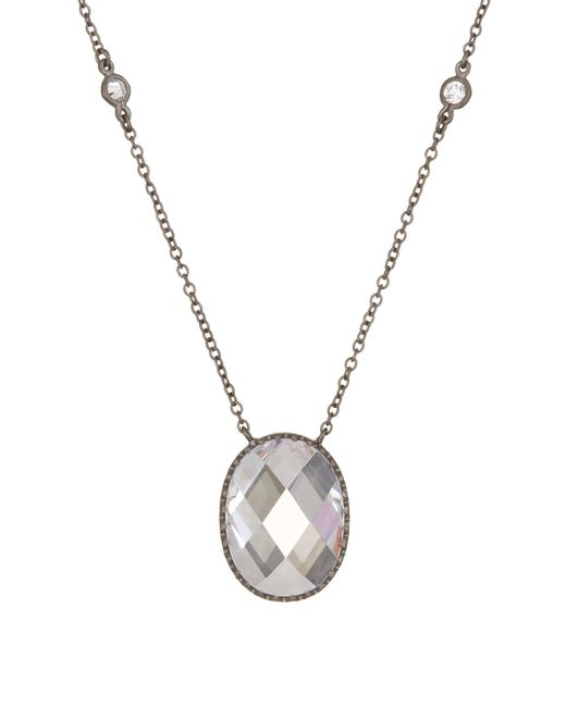 Freida Rothman | Metallic Contemporary Deco Celestial Pendant Necklace | Lyst