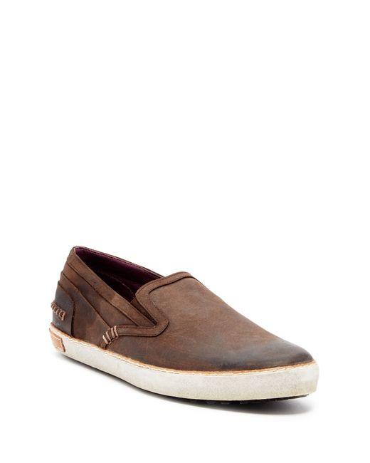 Blackstone | Brown Round Toe Slip-on for Men | Lyst