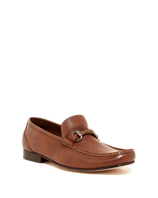 Sandro Moscoloni | Brown Sorrento Bit Buckle Loafer for Men | Lyst