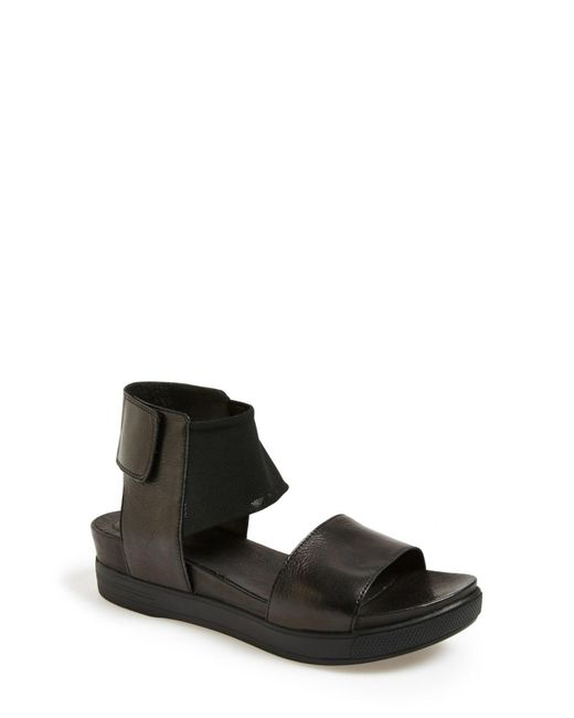 Eileen Fisher | Black 'spree' Sport Sandal | Lyst