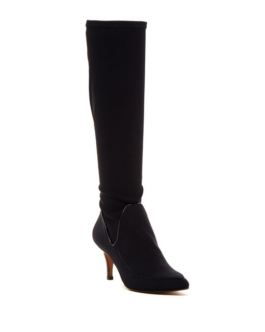 Donald J Pliner | Black Tracey Stretch Boot | Lyst