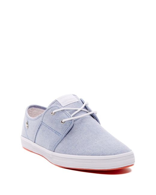 Fish n chips spam 2 denim sneaker in blue for men lyst for Fish and chips shoes