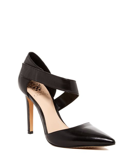 Vince Camuto | Black Carlotte Pointy Toe Pump | Lyst