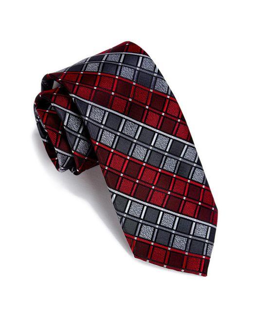 Perry Ellis - Red Rossi Geo Pattern Tie for Men - Lyst
