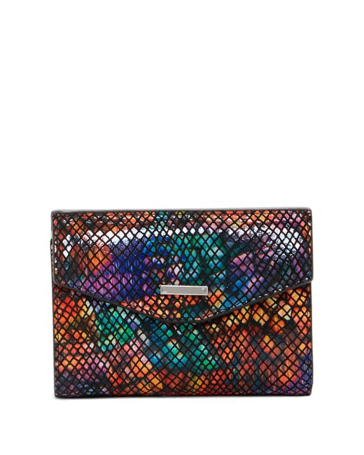 Lodis   Multicolor Elche Printed Leather French Purse   Lyst