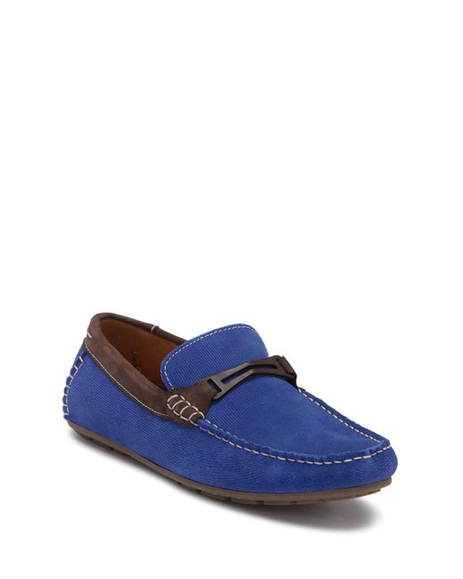 Steve Madden - Blue Garland Perforated Driver for Men - Lyst