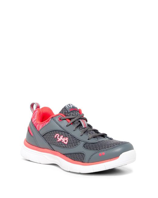 Ryka | Gray Delish Training Sneaker - Wide Width Available | Lyst