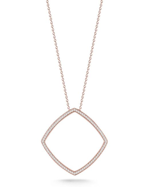 Dana Rebecca - Metallic 14k Rose Gold Diamond Alexa Jordyn Pendant Necklace - 0.43 Ctw - Lyst