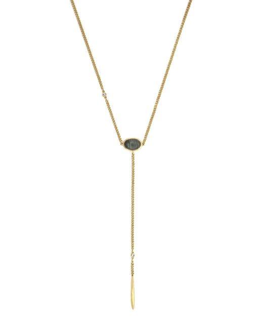Cole Haan - Metallic Labradorite & Spike Y-necklace - Lyst