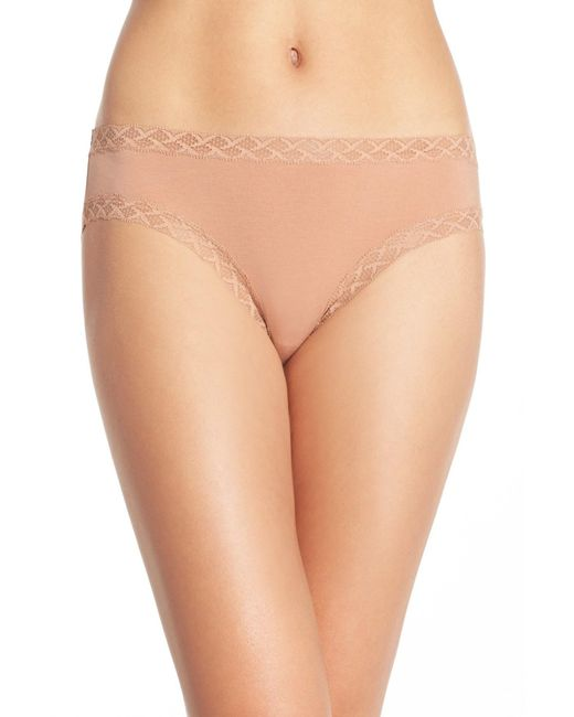 Natori - Natural Bliss Brief - Lyst